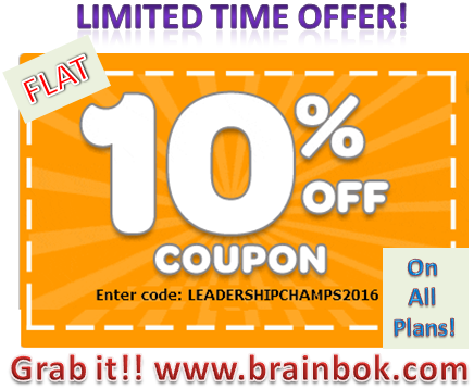 All BrainBOK Plans now 10% Off! Grab it! Limited Offer!